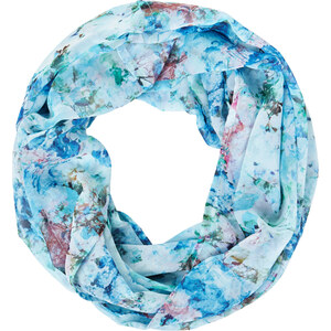 Street One - Foulard-tube floral Galina - print orion blue