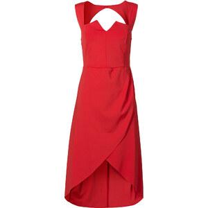 BODYFLIRT Bustier-Kleid in rot von bonprix