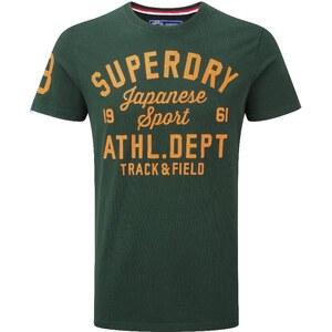 Superdry TRACKSTER TShirt print enamel green