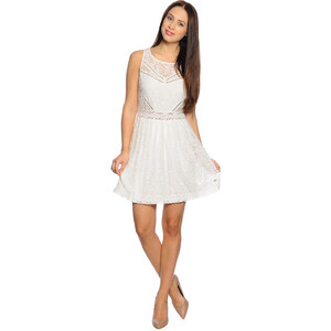 Tom Tailor Feminine Lace Dress 89 Damen L white