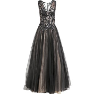 Luxuar Fashion Ballkleid schwarz