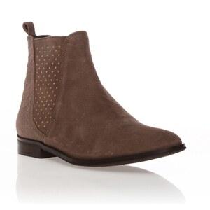 Kookai Boots - Cuir marron