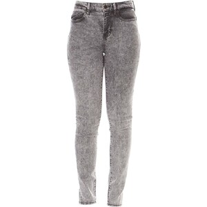 Guess 1981 Ankle Starry - Jean skinny - gris