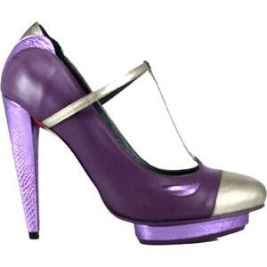 Pring Paris Escarpin ouvert - violet