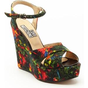 Love Moschino JA1611 - Sandales à talon - noir