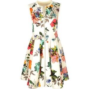 derhy Kleid mit kurzem Schnitt - naturweiß