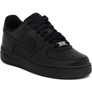 Nike Chaussures AIR FORCE 1 GS BLACK