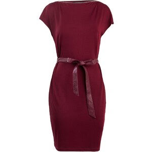 Morgan Raina - Robe courte - bordeaux