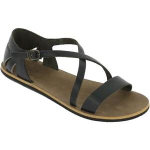 Kickers Sandales en cuir - noir