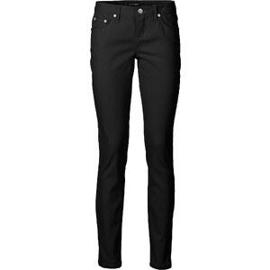BODYFLIRT Pantalon extensible noir femme - bonprix