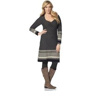 Damen Jerseykleid Boysen's schwarz 36 (S),38,40 (M),42,44 (L),46,48 (XL),50,52 (XXL),54