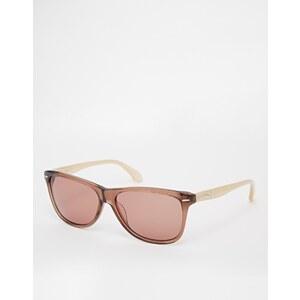 Calvin Klein - Sonnenbrille - Karamell/Elfenbein