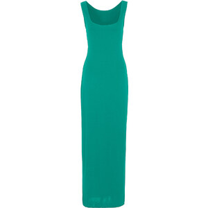 BODYFLIRT boutique Robe verte sans manches femme - bonprix