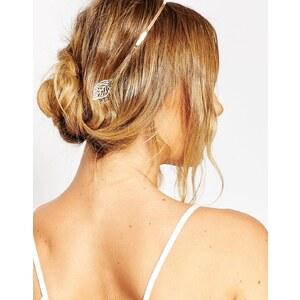 ASOS - Haarband mit Blattdesign - Gold