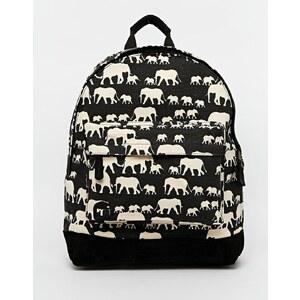 Mi-Pac - Elephants - Rucksack - Schwarz
