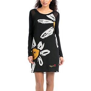 Desigual Damen Kleid VEST_CRIS, Knielang