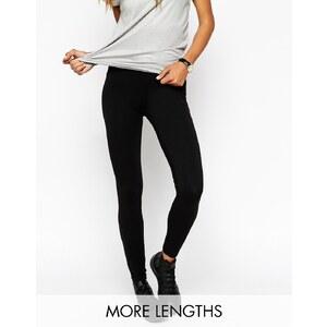 ASOS - Leggings taille haute - Noir - Noir