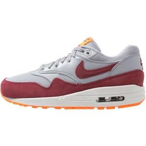 Nike Sportswear AIR MAX 1 ESSENTIAL Sneaker low wolf grey/team red/total orange/summit white