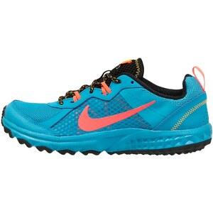 Nike Performance WILD TRAIL Laufschuh Trail blue lagoon/hot lava/black/laser orange