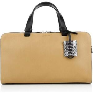 Calvin Klein Bea Duffle Bag Cognac/Black Handtasche