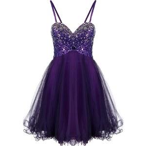 Luxuar Fashion Cocktailkleid / festliches Kleid lila