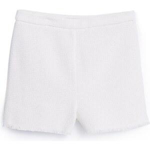 MANGO Short Coton Texturé