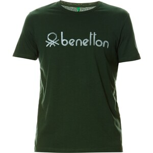 Benetton T-shirt - vert foncé