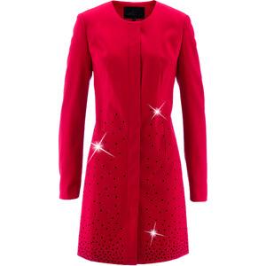 bpc selection Longblazer langarm in rot (Rundhals) für Damen von bonprix