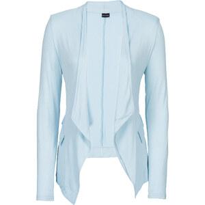BODYFLIRT Shirtblazer langarm in blau für Damen von bonprix
