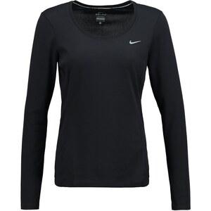 Nike Performance Langarmshirt black/reflective silver