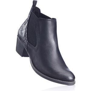 Marco Tozzi Stiefeletten mit 5 cm Blockabsatz in schwarz von bonprix