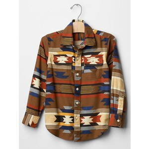 Gap Southwest Carpenter Shirt - Rich ginger