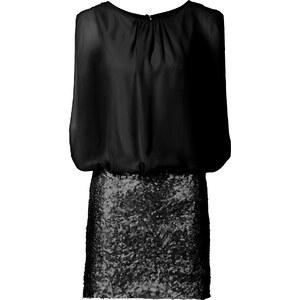 BODYFLIRT Robe noir femme - bonprix