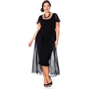 Damen Style Kleid SHEEGO STYLE schwarz 40,44,46,48,50,52,54,56