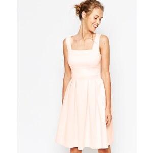 ASOS - Mittellanges Debütantinnenkleid aus Neopren - Mint