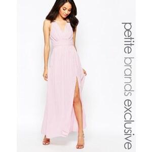 True Decadence Petite - Maxi robe cache-cœur - Beige