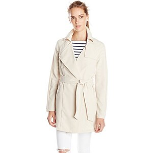 Vero Moda Damen Trenchcoat Mantel VMVALENTINE 3/4 TRENCHCOAT