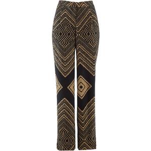 bpc selection premium Pantalon en voile de chiffon Premium marron femme - bonprix