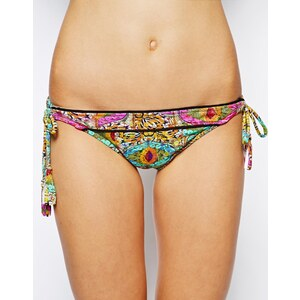 Ginja By Baku Sunsets In Indochine Splice Bandeau Bikini Top