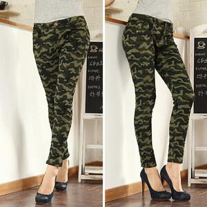 Lesara Jeans à motif camouflage