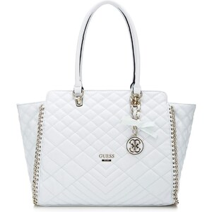 Guess Lucie Quilted Avery - Sac - blanc