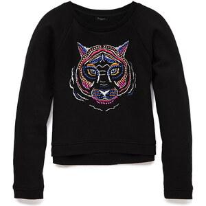 FOREVER21 girls Sweatshirt mit Tiger-Motiv (Kinder)
