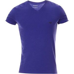 Emporio Armani Underwear Men T-shirt col V - bleu classique