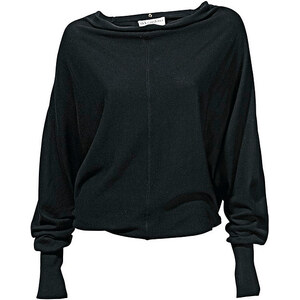 Oversized-Pullover, Rick Cardona, schwarz, Viskose-Mix, Toller Oversized-Pullover