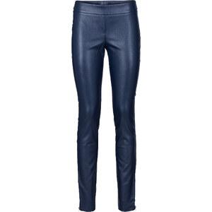 BODYFLIRT Pantalon simili cuir bleu femme - bonprix