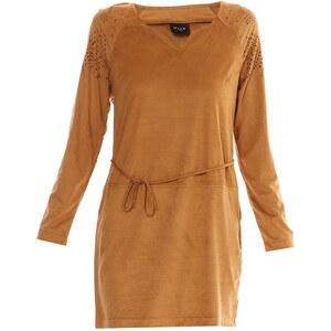 Vila Visuedine - Robe droite - camel