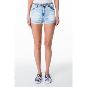 Tally Weijl Helle Jeans-Shorts mit Gürtel