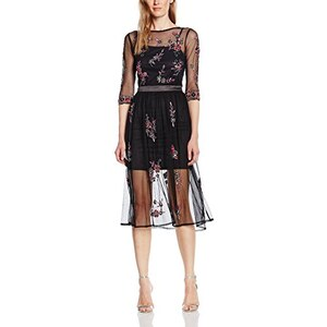 Frock and Frill Damen Kleid Raines Embellished Skater with Sleeves