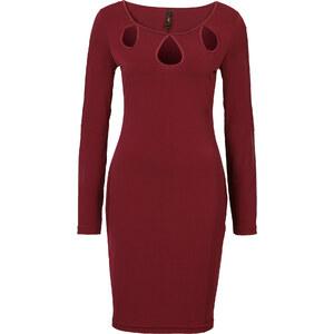 BODYFLIRT boutique Kleid in rot von bonprix