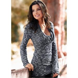 BODYFLIRT boutique Pullover in grau für Damen von bonprix